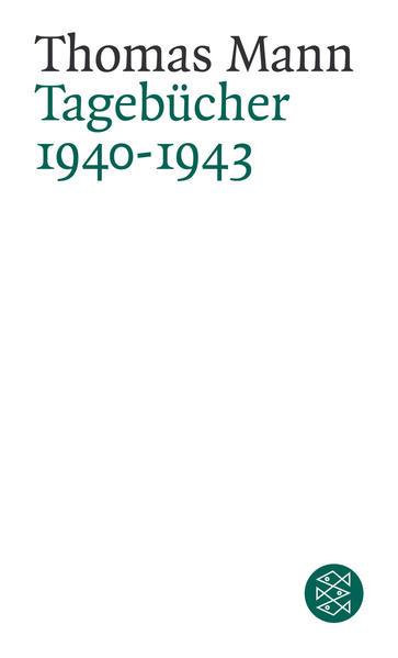 Tagebücher 1940-1943 - Coverbild