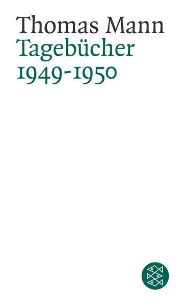 Tagebücher 1949-1950 - Coverbild