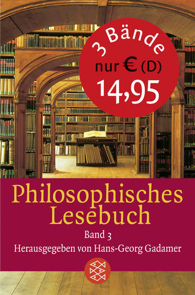 Philosophisches Lesebuch - Coverbild