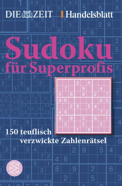 Sudoku für Superprofis - Coverbild