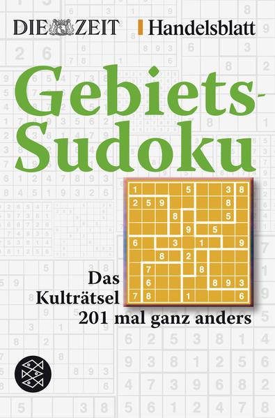 Gebiets-Sudoku - Coverbild
