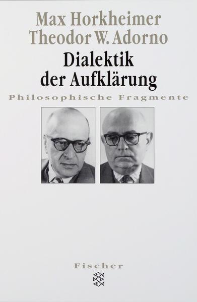 Dialektik der Aufklärung - Coverbild