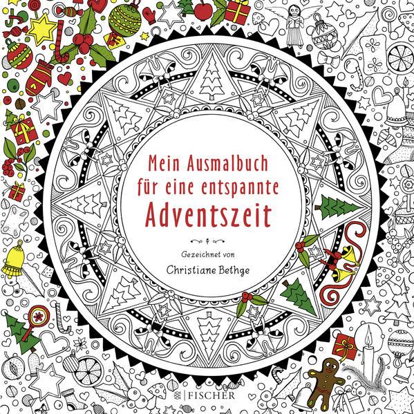 Mein Ausmalbuch für eine entspannte Adventszeit - Coverbild