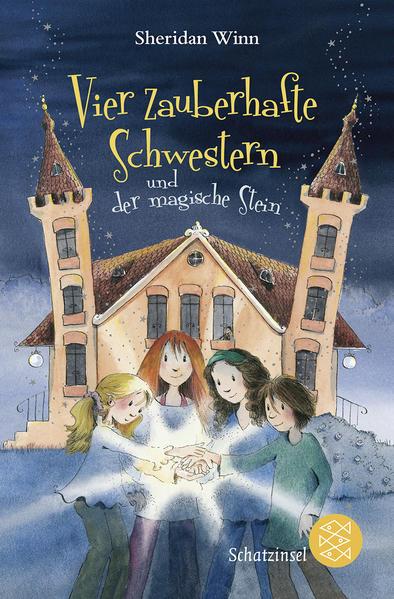 Vier zauberhafte Schwestern und der magische Stein - Coverbild