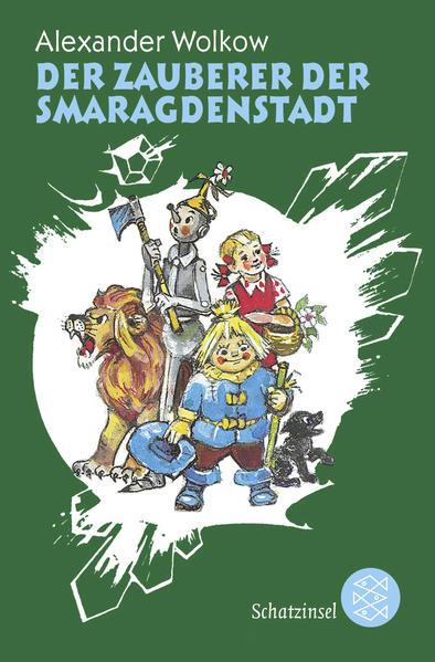 Der Zauberer der Smaragdenstadt - Coverbild