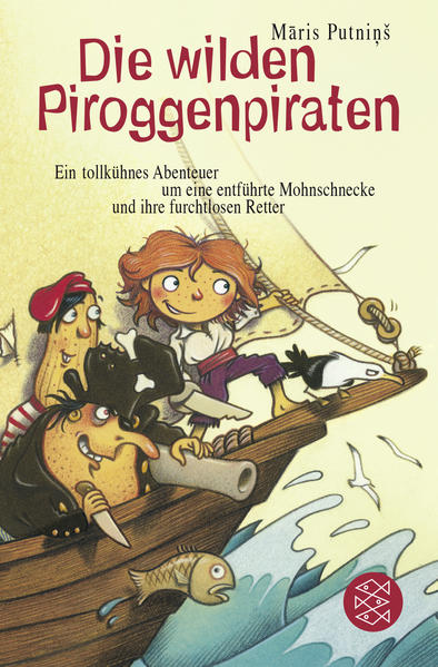 Die wilden Piroggenpiraten - Coverbild