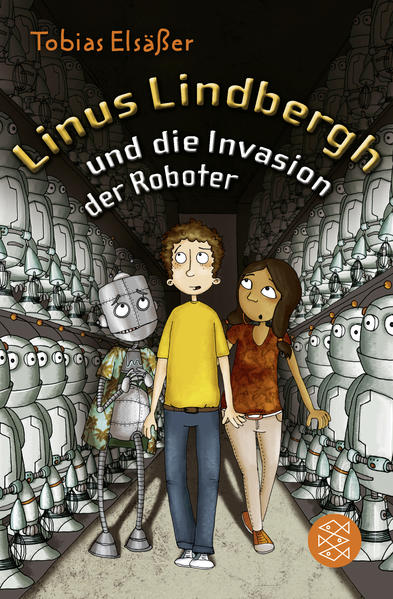 Linus Lindbergh und die Invasion der Roboter - Coverbild