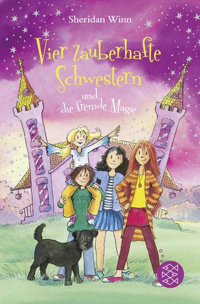 Vier zauberhafte Schwestern und die fremde Magie - Coverbild