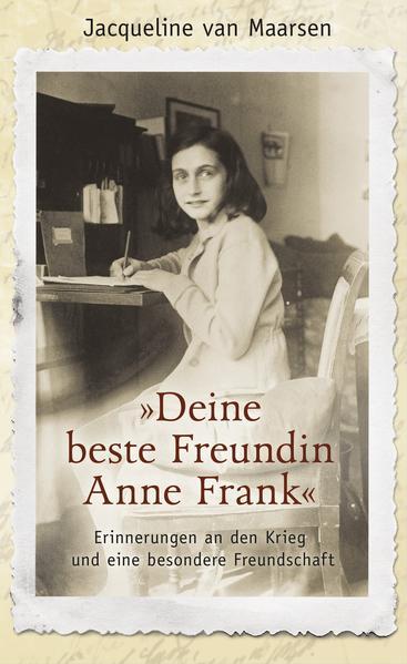 »Deine beste Freundin Anne Frank« - Coverbild
