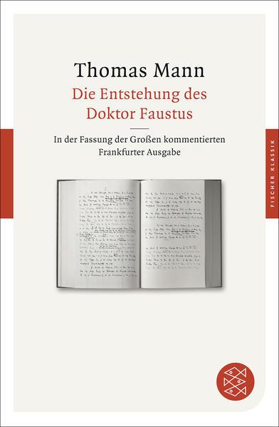 Die Entstehung des Doktor Faustus - Coverbild