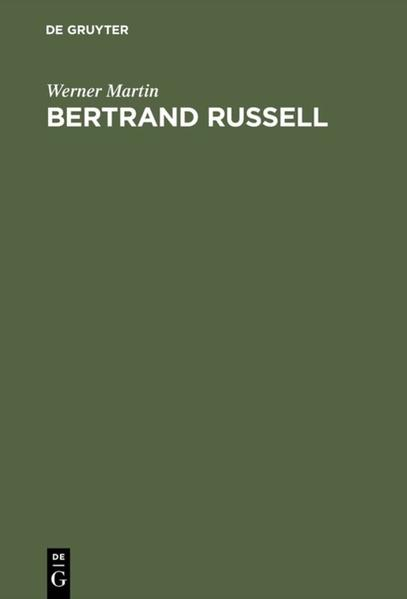 Bertrand Russell - Coverbild