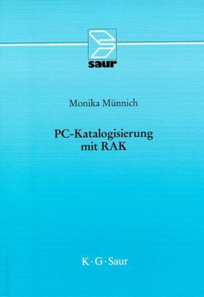 PC-Katalogisierung mit RAK - Coverbild