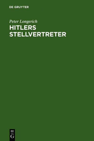 Hitlers Stellvertreter - Coverbild