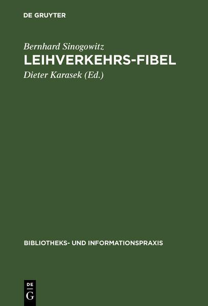 Leihverkehrs-Fibel - Coverbild