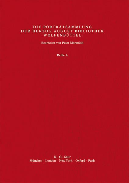 Katalog der Graphischen Porträts in der Herzog August Bibliothek... / Po - Rh - Coverbild