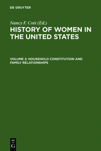 History of Women in the United States / Household Constitution and Family Relationships - Coverbild