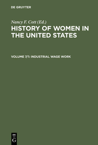 History of Women in the United States / Industrial Wage Work - Coverbild
