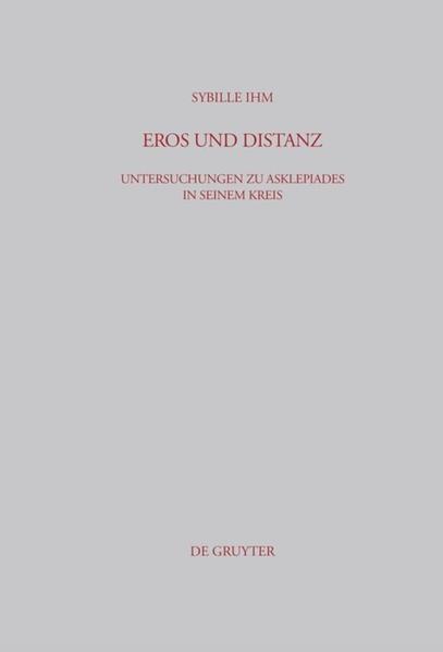 Eros und Distanz - Coverbild