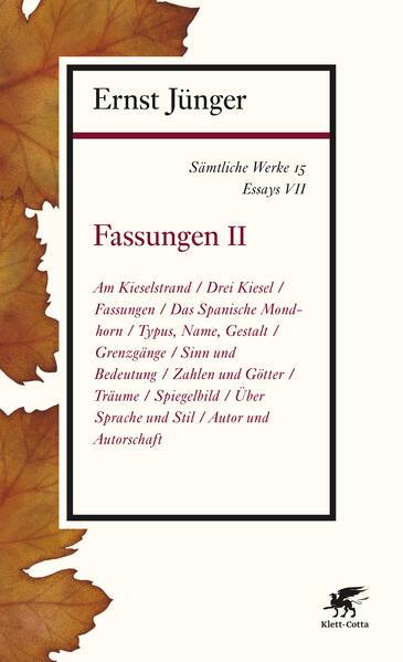 Sämtliche Werke - Band 15 - Coverbild