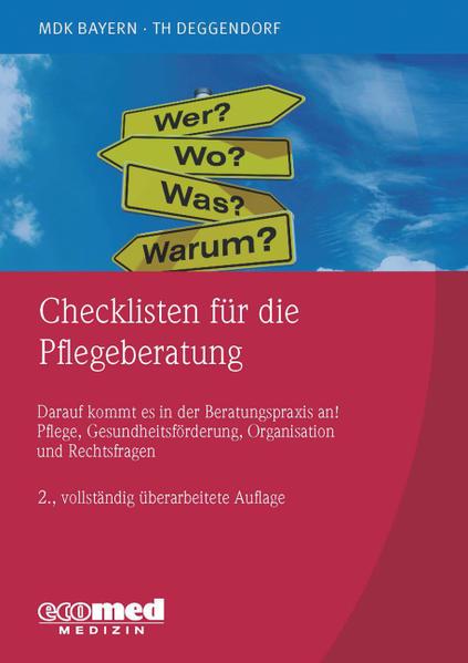 Checklisten für die Pflegeberatung - Coverbild