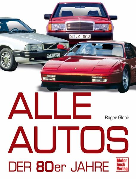 Alle Autos der 80er Jahre - Coverbild