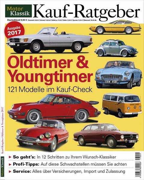 MotorKlassik Kauf-Ratgeber - Oldtimer & Youngtimer 2017 - Coverbild