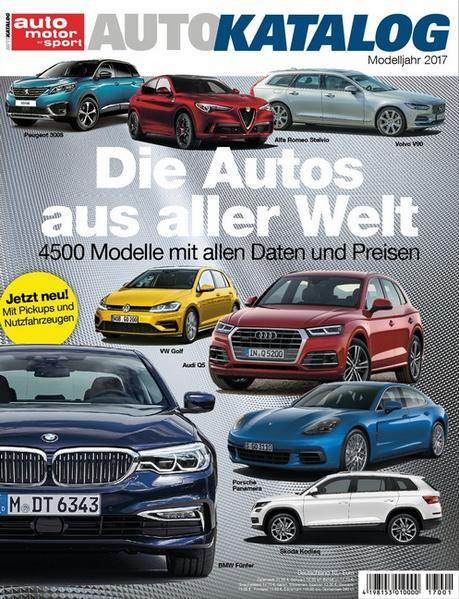 Auto-Katalog 2017 - Coverbild