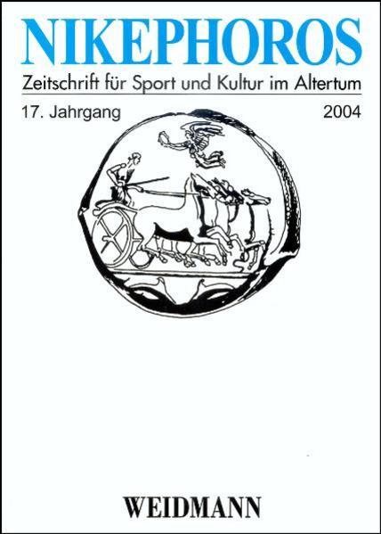 Nikephoros - Zeitschrift für Sport und Kultur im Altertum - Coverbild
