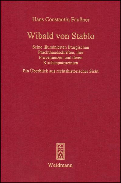 Wibald von Stablo - Coverbild