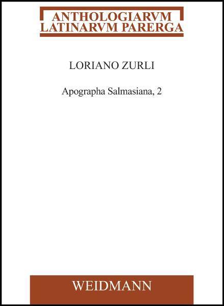 Apographa Salmasiana, 2 - Coverbild