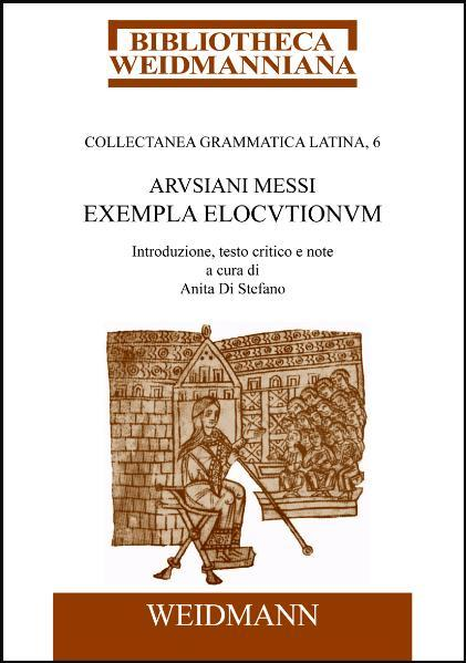 Arusiani Messi Exempla elocutionum - Coverbild