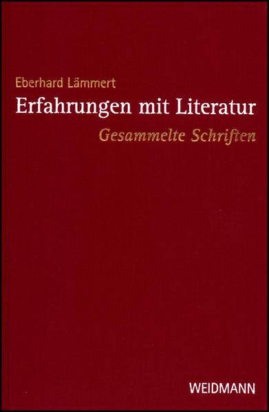 Erfahrungen mit Literatur - Coverbild