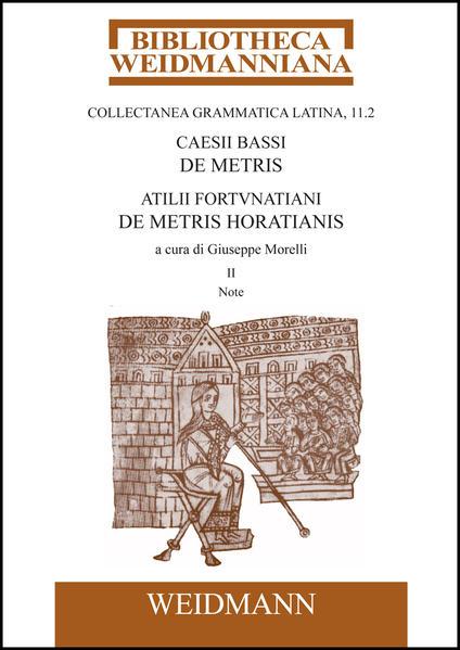 Caesii Bassi De metris et Atilii Fortunatiani De metris Horatianis - Coverbild