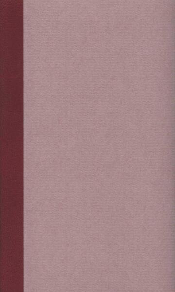 Werke und Briefe in drei Bänden - Coverbild
