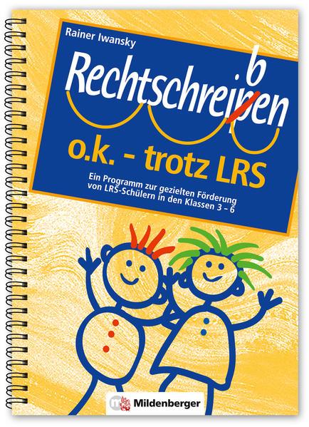 Rechtschreiben o.k. - trotz LRS / Rechtschreiben o.k. - trotz LRS - Coverbild