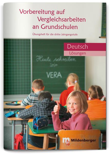 Vorbereitung auf Vergleichsarbeiten an Grundschulen - Coverbild