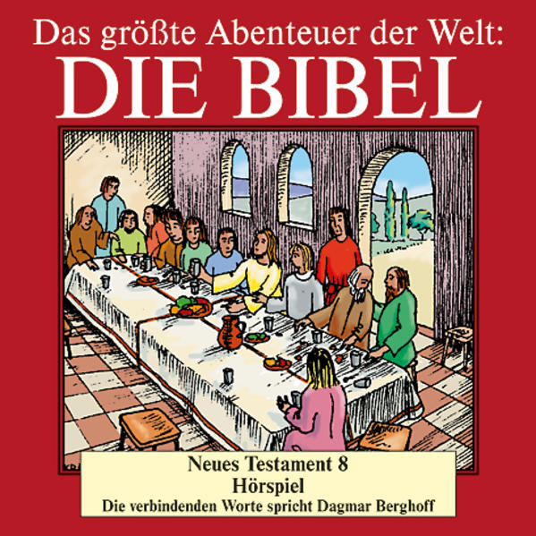Die Bibel - Neues Testament CD 8 - Coverbild
