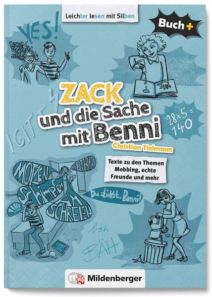 Buch+: Zack und die Sache mit Benni – Schülerbuch - Coverbild