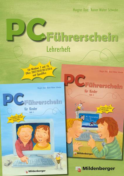 PC-Führerschein für Kinder - Lehrerheft Klasse 1 – 4  - Coverbild