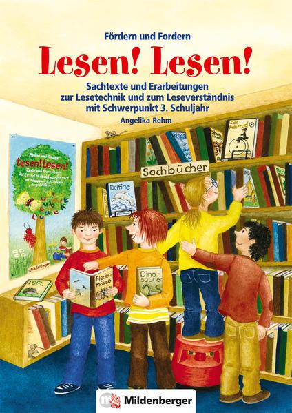 Fördern und Fordern – Lesen! Lesen! 3 - Coverbild