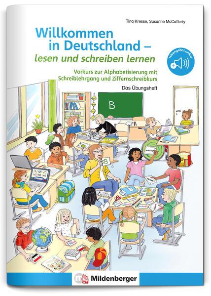 Willkommen in Deutschland – lesen und schreiben lernen - Coverbild