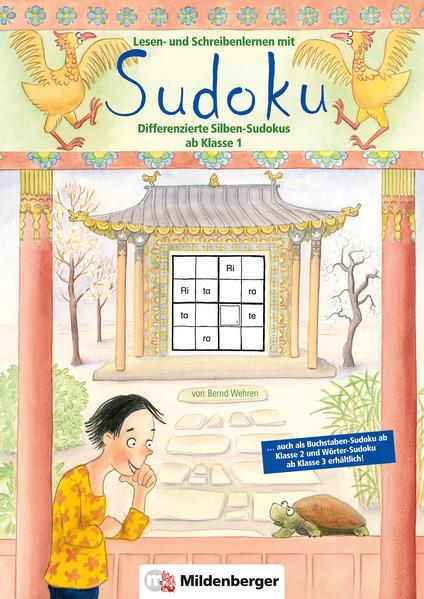 Lesen- und Schreibenlernen mit Sudoku - Coverbild