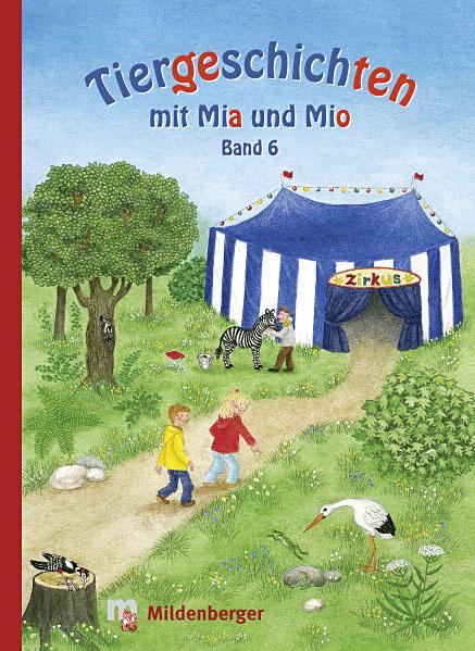 Tiergeschichten mit Mia und Mio - Coverbild