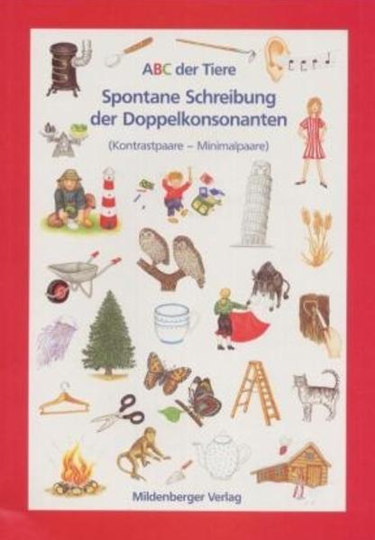 """ABC der Tiere / ABC der Tiere – Arbeitsheft ,,Spontane Schreibung von Doppelkonsonanten"""" - Coverbild"""
