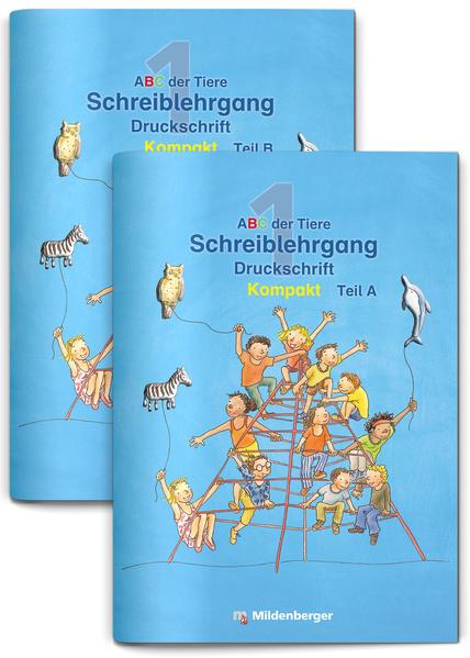ABC der Tiere 1 – Schreiblehrgang zur Silbenfibel® Kompakt – Förderausgabe - Coverbild