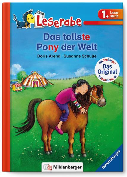 Leserabe – Das tollste Pony der Welt - Coverbild