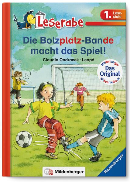 Leserabe – Die Bolzplatz-Bande macht das Spiel! - Coverbild