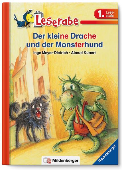 Leserabe – Der kleine Drache und der Monsterhund - Coverbild