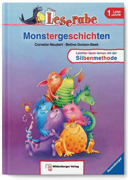 Leserabe – Monstergeschichten - Coverbild