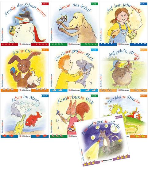 Zeit für Geschichten - Heft 1 bis 10, Kennenlernpaket - Coverbild